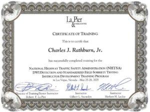 sfst instructor 2005